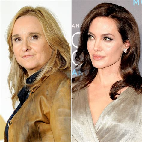 melissa etheridge disses angelina jolie   showing