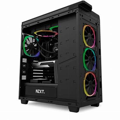 Pc Nzxt Fan Gaming Computer Build Aer