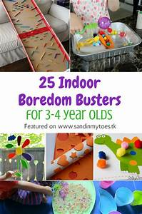 25 Indoor Boredom Busters for 3-4 Year Olds Sand In My Toes