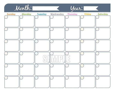monthly calendar     calendar printable