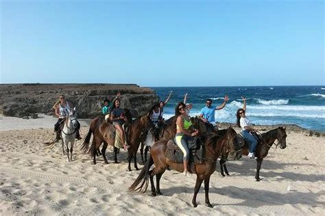 riding horseback aruba natural pool tour tours cool horse caribbean tripadvisor