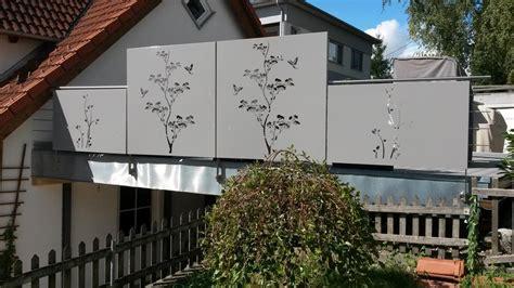 Balkon Aus Metall by Sichtschutz Mit Motiv Ganz Individuell Hier Vergleichen