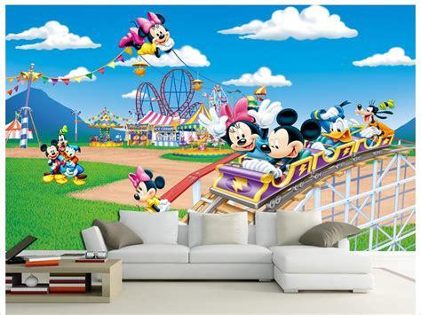 online get cheap mickey mouse papier peint aliexpress com
