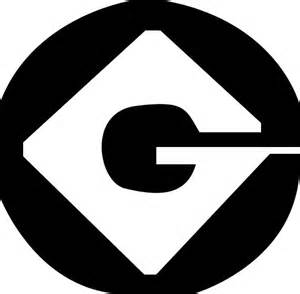 Printable Minion G Symbol
