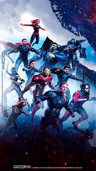 Endgame Marvel Wallpapers Avengers Cave