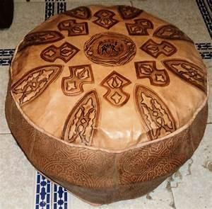 Pouf Pour Salon : poufs pour salon marocain traditionnel ~ Premium-room.com Idées de Décoration