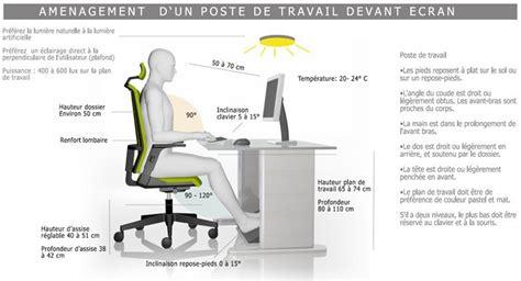 ergonomie au bureau les 7 meilleures images du tableau ergonomie poste de