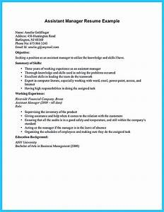 Related Skills Resume Store Assistant Manager Resume That Can Bag You
