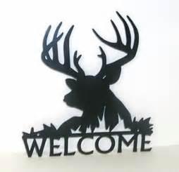 Wildlife Metal Art Welcome Signs