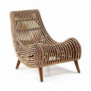 Fauteuil design en bois dan by drawer for Fauteuil design bois