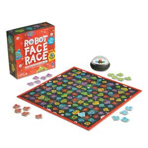 Robot Race Game Face
