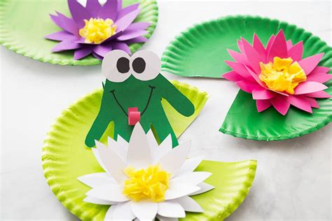frog craft   ideas  kids