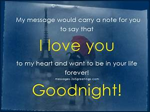 Romantic Good Night Text Messages Romantic Text Messages ...