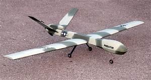4 Channel Predator/Reaper Style UAV Drone RC Plane W ...
