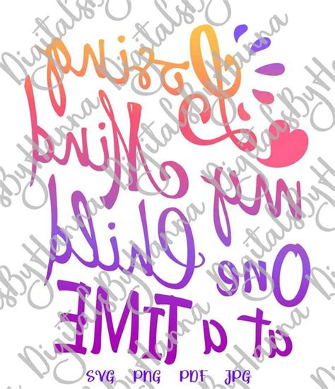 I only love you, i am really sorry. Losing My Mind One Child at a Time SVG File for Cricut ...