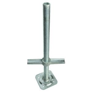 metaltech 24 in adjustable leveling jack m mbsjp24h the