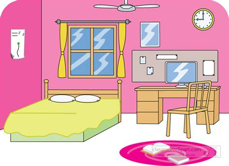 Bedroom Clip Art Free  Clipart Panda  Free Clipart Images