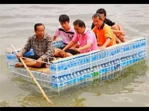 How To Make A Boat From A Bottle by How To Make Boat From Plastic Bottle