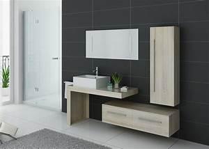 Meuble De Salle : meuble de salle de bain couleur bois naturel meuble de salle de bain tendance dis9250sc ~ Nature-et-papiers.com Idées de Décoration