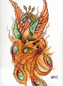 20 Beautiful Phoenix Tattoos : Freakify.com