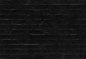 Seamless black brick wall pattern texture background ...