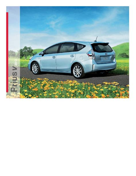 Angeles Used Cars by 2013 Toyota Prius V Brochure Los Angeles Toyota Scion