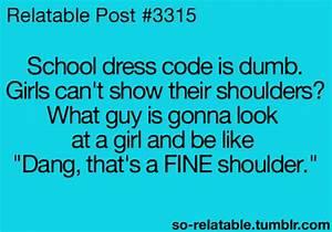 LOL funny fashion dress humor school Clothes code so ...