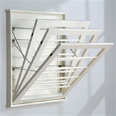 wall mounted clothes drying rack clothes drying rack wall mount laundry room hanger shelf