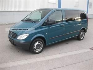 Vito 115 Cdi : mercedes benz vito 115 cdi 2004 estate minibus up to 9 seats truck photo and specs ~ Gottalentnigeria.com Avis de Voitures