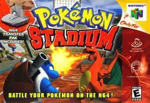 Pokemon Stadium Nintendo 64 N64 Game