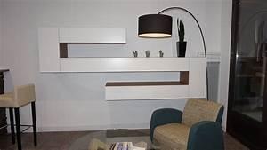 Meuble Haut Salon : meuble de salon sur mesure ~ Teatrodelosmanantiales.com Idées de Décoration