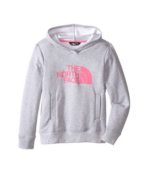 light pink pullover hoodie the north face the north face kids logowear pullover