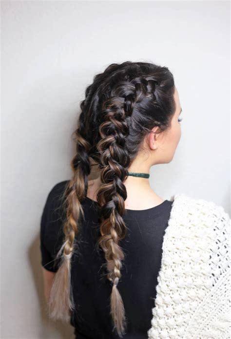 double dutch braids  beginners beauty tutorial mash
