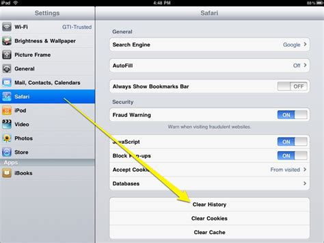 how to delete history in iphone safari windscribe login how to clear cache on iphonepedia