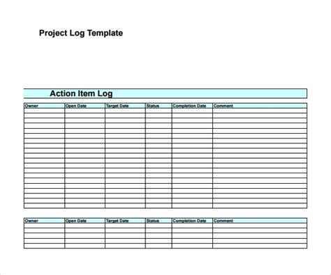 sample decision log templates   ms word