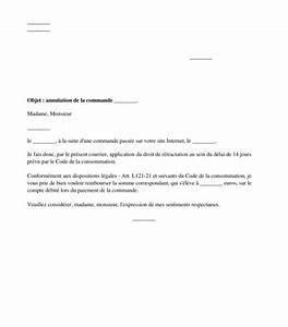 Délai Rétractation Achat Voiture Occasion : courrier type lettre de r tractation en ligne achat distance ~ Gottalentnigeria.com Avis de Voitures
