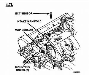 Jeep  Location Of The Jeep Cherokee 2 7 Crd Engine Coolant
