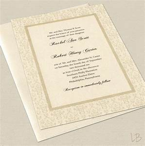 wedding invitation wording wedding invitation wording non With example of traditional wedding invitation card