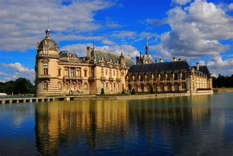 Of Chantilly by Chateau De Chantilly Castle Of Chantilly Of Franc