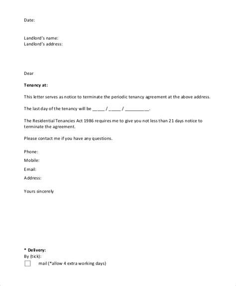 notice letters  premium templates