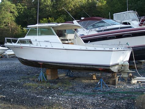 Boat Hull Project For Sale by 1973 Stamas 24 Project Boat The Hull Boating