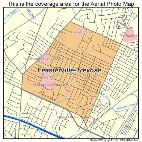 Feasterville Flooring America Feasterville Trevose Pa by Aerial Photography Map Of Feasterville Trevose Pa