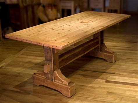 dining room table woodworking plans rustic dining table plans this is the one i will be making