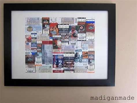 """Turn Sporting Event Tickets Into Framed """"art""""  Rosyscription. Ms Office Letterhead Template. Pl Sql Resume Sample Template. Indesign Proposal Template. Loan Amortization Schedule In Excel Template. Sample Of Informal Letter Lesson Plan. Resume Template And Samples Template. Google Doc Template Invoice. Samples Of Recommendation Letters Template"""