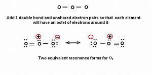 Simple method for writing Lewis Structures – Ozone O3 and ...