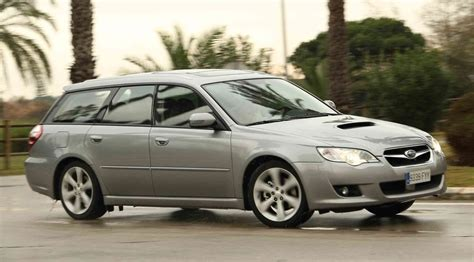 subaru legacy sports tourer td   review car