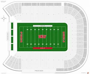 Aloha Stadium Seating Chart Sam Boyd Stadium Unlv Seating Guide Rateyourseats Com