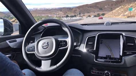 volvo xc autopilot ii  mph youtube