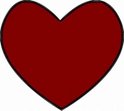 Heart Clip Clipart Svg Vector Outline Hearts