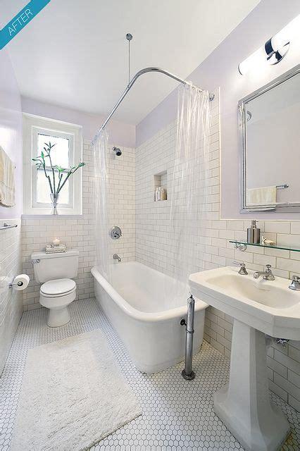 york city prewar apartment bathroom